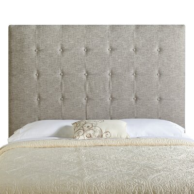 Dublin Upholstered Panel Headboard Size: Tall Full, Upholstery: Ash Grey