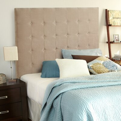 Dublin Upholstered Panel Headboard Size: Tall Queen