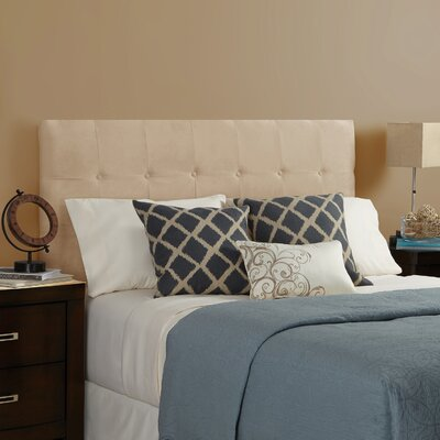 Dublin Upholstered Panel Headboard Size: Full, Upholstery: Sand