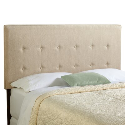 Dublin Upholstered Panel Headboard Size: Full, Upholstery: Light Sage