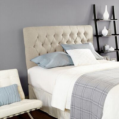 Dublin Upholstered Panel Headboard Size: Queen