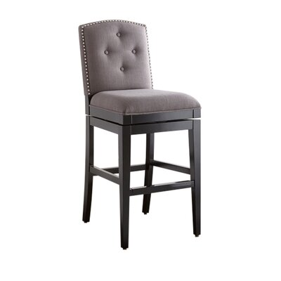 Russellton 30 Swivel Bar Stool with Cushion