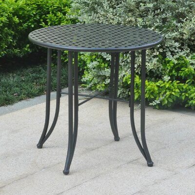 Dalmatia Bistro Table Finish: Antique Black