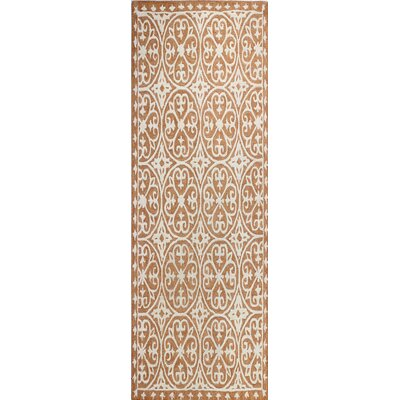 Hand-Tufted Spice Area Rug Rug Size: Runner 26 x 8