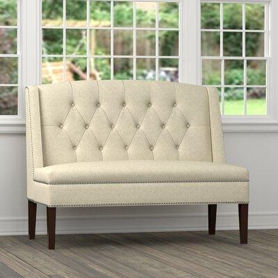 Danville Settee Loveseat Upholstery: Tan