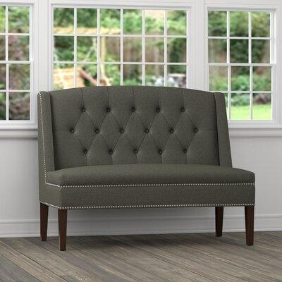 Danville Settee Loveseat Upholstery: Gray