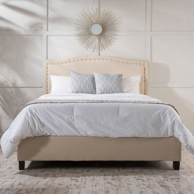 Glendon Upholstered Panel Bed Size: Queen