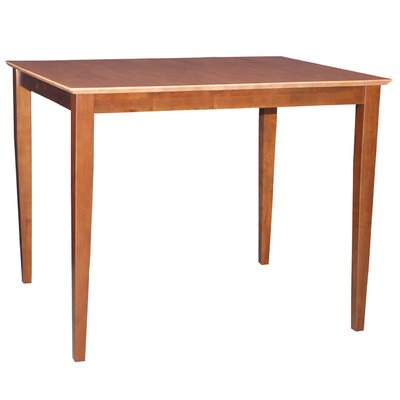 Glenside Counter Height Dining Table Finish: Cinnamon / Espresso