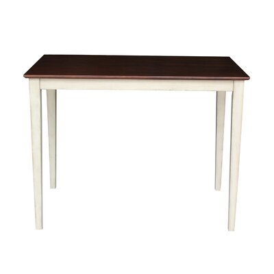 Glenside Counter Height Dining Table Finish: Antiqued Almond