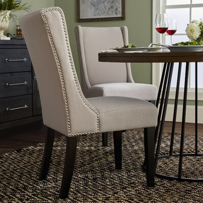 Vanessa Side Chair Upholstery: Taupe