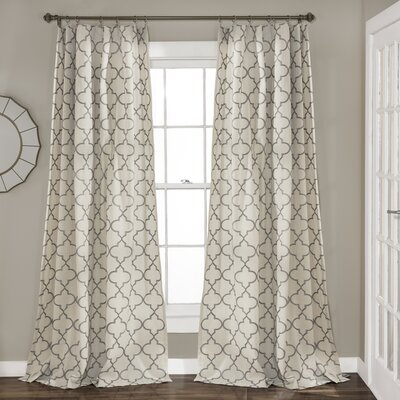 Dauberville Light-Filtering Curtain Panels