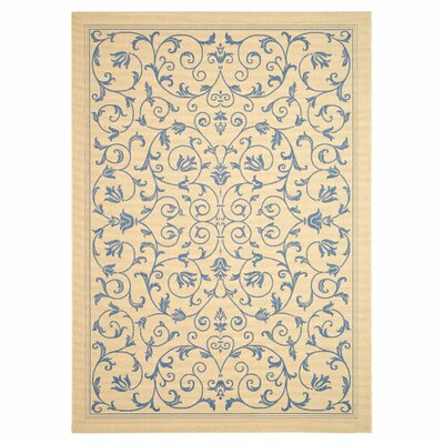 Bacall All Over Vine Indoor/Outdoor Area Rug Rug Size: 5'3