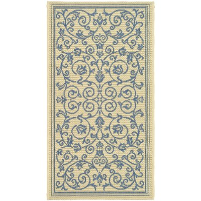 Bacall All Over Vine Indoor/Outdoor Area Rug Rug Size: Runner 2'4