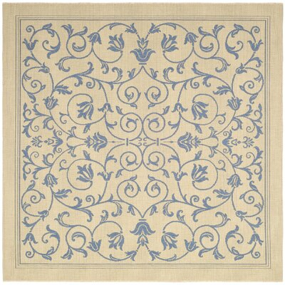 Bacall All Over Vine Indoor/Outdoor Area Rug Rug Size: Square 67