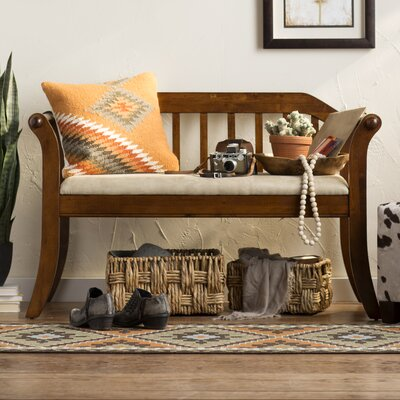 Yorkshire Wood Entryway Bench