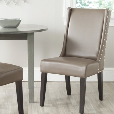 Alcott Hill Vanessa Side Chair Upholstery: Clay