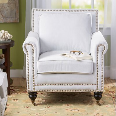 Reinette Armchair Upholstery: Ivory