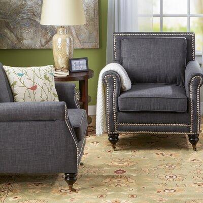 Reinette Armchair Upholstery: Gray