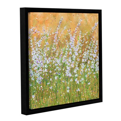 Sun Drenched Framed Painting Print on Wrapped Canvas