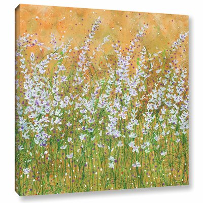 Sun Drenched Painting Print on Wrapped Canvas