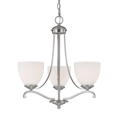 Farrell 3-Light Shaded Chandelier