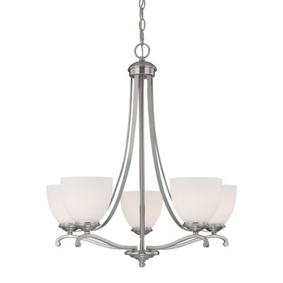 Farrell 5-Light Shaded Chandelier