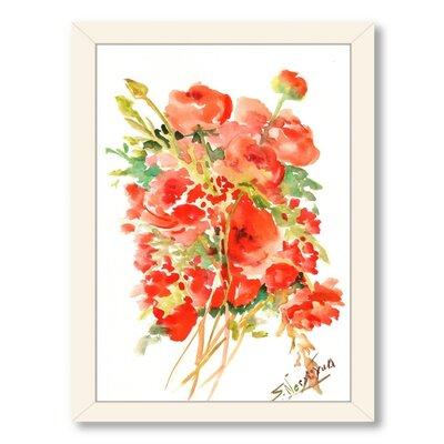 Buttercups Ranunculus Framed Painting Print