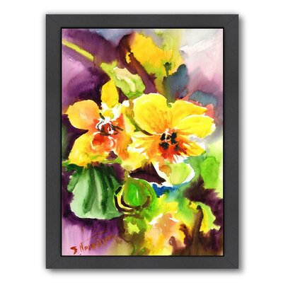 Orchids Framed Painting Print