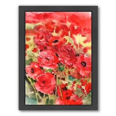 Buttercups Framed Painting Print