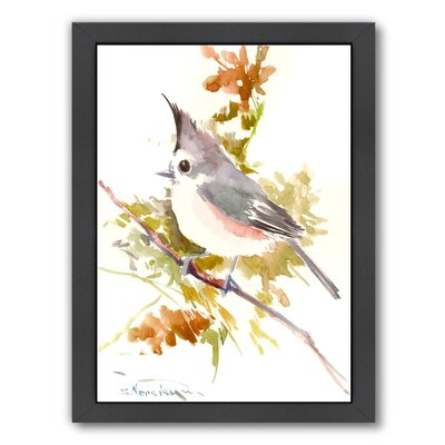 Titmouse Framed Painting Print