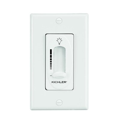 Glenfield Light Dimmer Slider Wall Control Finish: Ivory