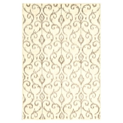 Eagleview Cream Area Rug Rug Size: 7'10