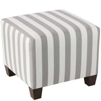 Forestburgh 100% Cotton Square Ottoman