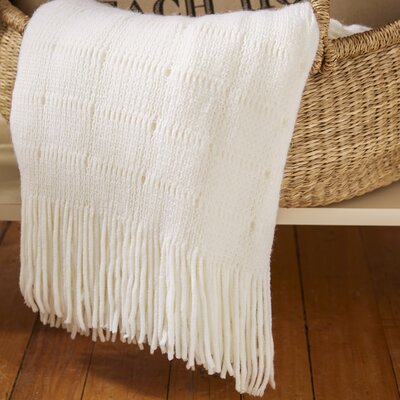 Greenlawn Cashmere Throw Blanket