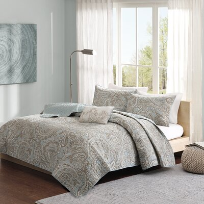 Mathis 4 Piece Coverlet Set
