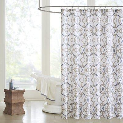 Mathis Cotton Shower Curtain