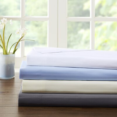 Alcott Hill Kingsport 500 Thread Count Dobby Stripe Sheet Set