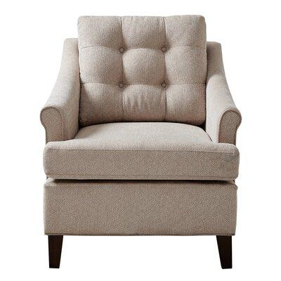 Frasier Tufted Armchair Upholstery: Sand
