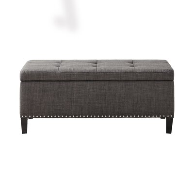 Bretton II Tufted Top Storage Ottoman