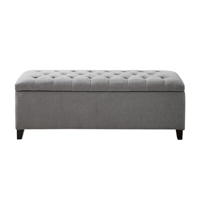 Bretton Tufted Top Storage Ottoman
