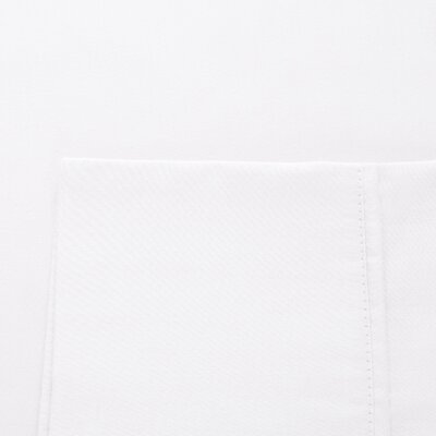 Raleigh 300 Thread Count Adjustable Cotton Sheet Set Size: King, Color: White