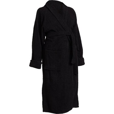 Patric Bathrobe Size: Medium, Color: Black
