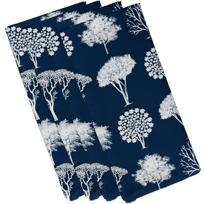 Maxson Field of Trees Floral Print Napkin