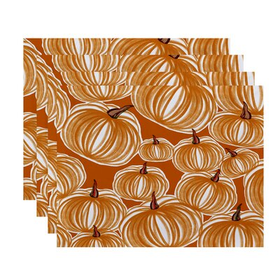 Maxson Pumpkins-A-Plenty Print Placemat