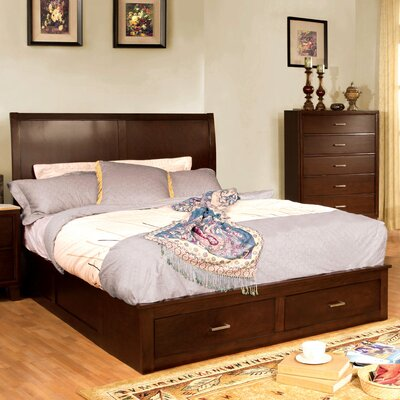 Elkland Panel Bed Size: California King