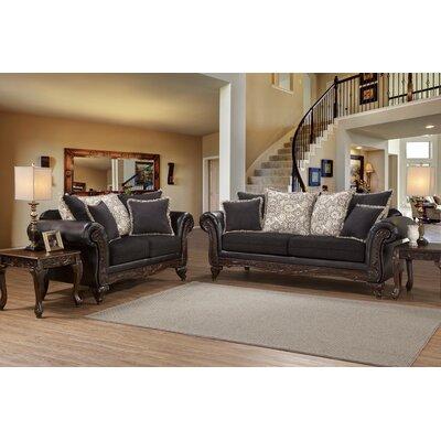 Serta Upholstery Darcy Sofa Upholstery: SanMarEbony