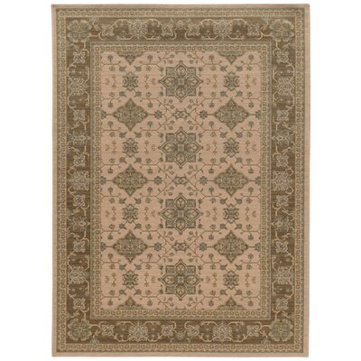 Douglassville Oriental Beige Area Rug Rug Size: Rectangle 66 x 96