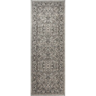 Duanesburg Gray Area Rug Rug Size: Runner 27 x 73