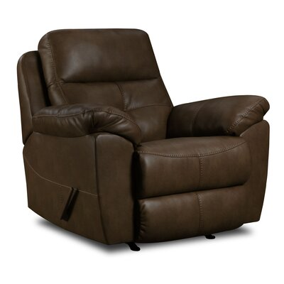 Barnett Rocker Recliner by Simmons Upholstery Type: Power
