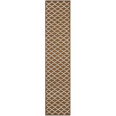 Fullerton Chocolate Area Rug Rug Size: Runner 23 x 10